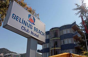 Selinus Otel İletişim